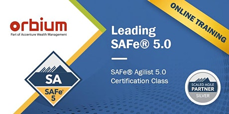 Online Leading SAFe® 5.0 Certification Training (Scaled Agile) - SAFe® Agilist, Singapore tickets
