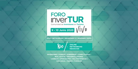 6ª edición Foro inverTUR VIVO 2020   Inversiones en Turismo entradas