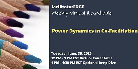 Power Dynamics in Co-Facilitation tickets