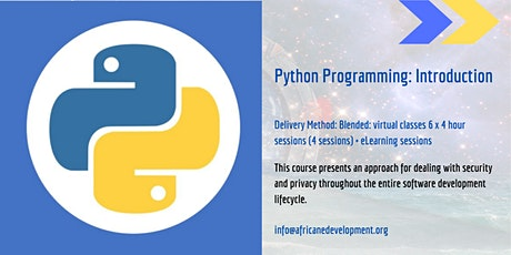 Python Programming: Introduction (EMEA) tickets