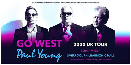 Go West & Paul Young (The Philharmonic, Liverpool) tickets