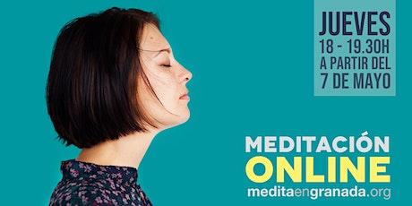Clases de meditación ONLINE  entradas