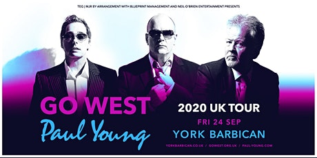 Go West & Paul Young (Barbican, York) tickets