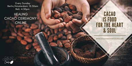 Healing Cacao Ceremony Online tickets