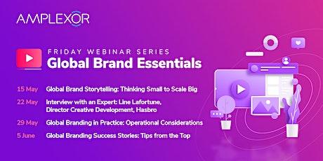 Friday Webinar Series – Global Brand Essentials tickets