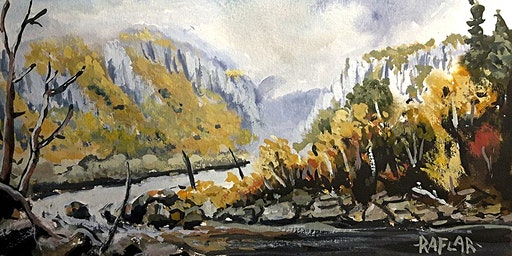 Beginner Gouache Course with Ralf Wall