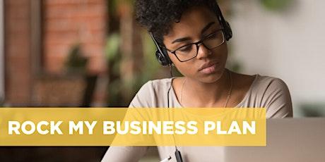 Rock My Business Plan Digital Workshop | Ontario | May 29 + June 5, 2020 tickets