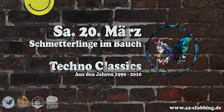 Schmetterlinge im Bauch – Techno Classics Tickets