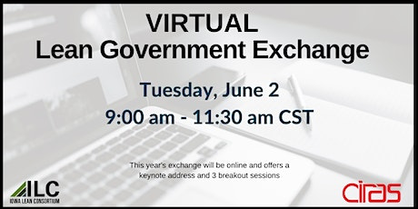 ILC Virtual Lean Government Exchange tickets