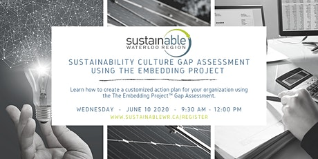 Sustainability Culture Gap Assessment using the Embedding Project Webinar tickets