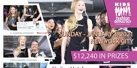 KIDS 9 TO 15 CASTING CALL AUDITION FOR NYC FASHION SHOW tickets