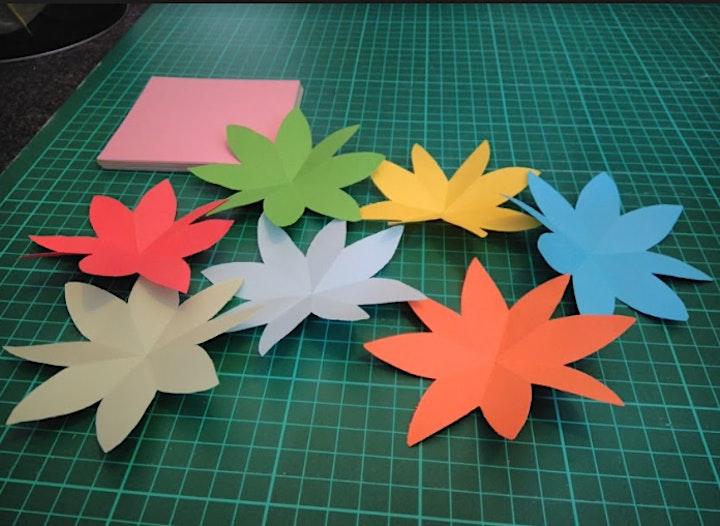Online Craft - DIY popup card Workshop image
