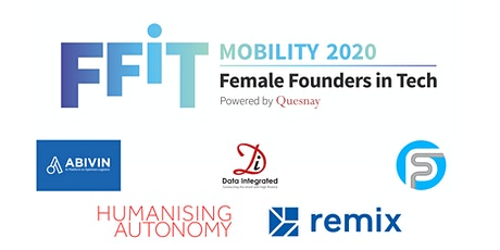 Quesnay's Female Founders in Mobility 2020: Final Pitch Event tickets