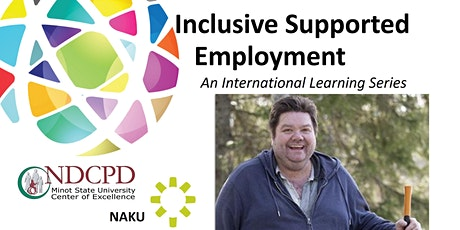 RESCHEDULED Inclusive Supported Employment, Intl Learning Series - Web 2 tickets