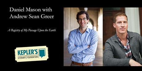 Daniel Mason with Andrew Sean Greer tickets