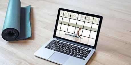 lezione yoga online a casa - base - GRATUITA biglietti
