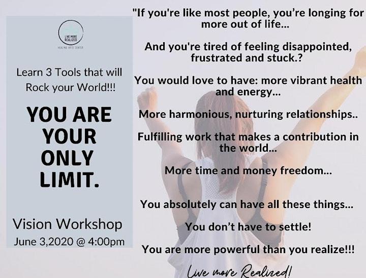Designing a Life you Love: Vision Workshop image