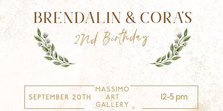 Brendalin & Cora's 2nd Birthday! tickets