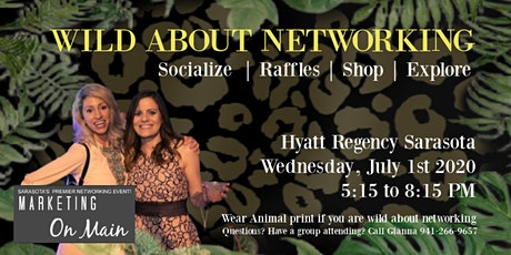 July 1st | Marketing on Main + Sarasota Premier Networking Event  tickets