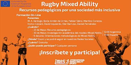 Mixed Ability Rugby: Recursos pedagógicos por una sociedad más inclusiva   entradas
