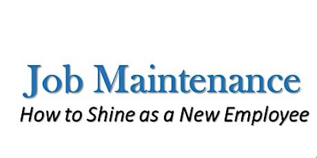 Job  Maintenance tickets
