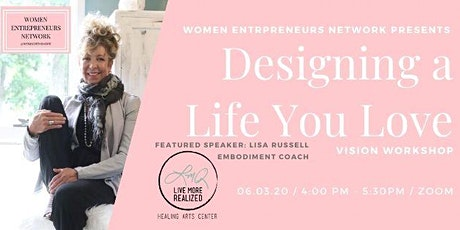 Designing a Life you Love: Vision Workshop tickets