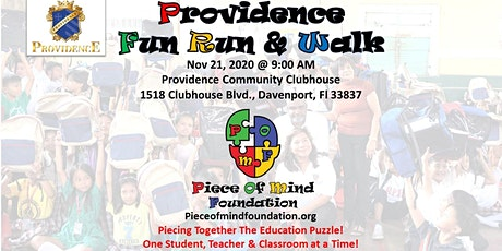 Piece of Mind Foundation - 5K Fun Run tickets