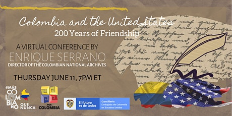 Colombia and the United States, 200 Years of Friendship tickets