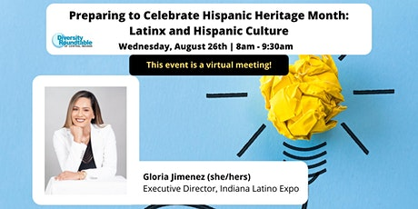 DRTCI Monthly Event: Preparing to Celebrate Hispanic Heritage Month tickets