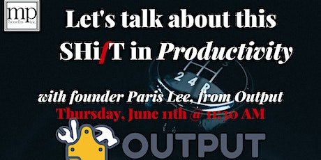 What do I need to successfully navigate this SHifT in Productivity? tickets