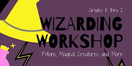 Wizarding Workshop: A Virtual Hands-On Event for Grades K thru 2 tickets