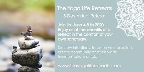 5-Day Virtual Yoga Retreat Tickets