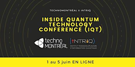 Conférence Inside Quantum Technology New-York billets