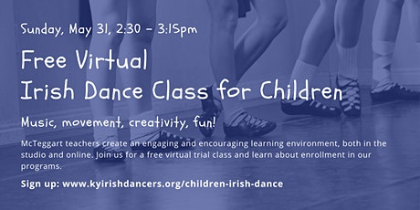 Free Virtual Irish Dance Class for Children tickets