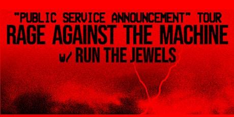 Rage Against the Machine tickets