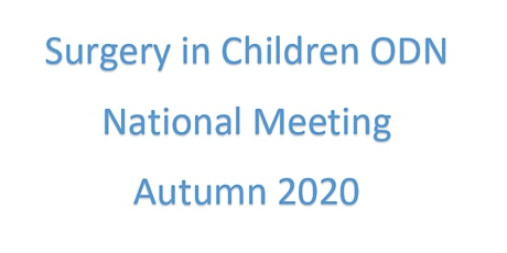 Surgery In Children ODN National Meeting tickets