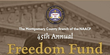 Montgomery County NAACP Freedom Fund Reception - September 27, 2020 tickets