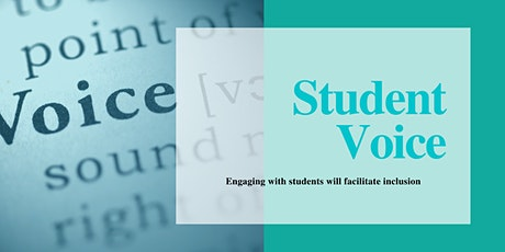 Enhancing Student Voice to Support Inclusion tickets