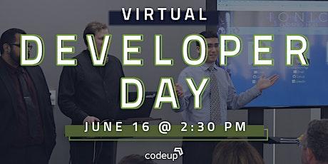 Codeup Virtual Developer Day - Fortuna Class tickets