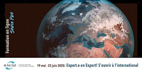Expert.e en Export! S'ouvrir à l'international tickets