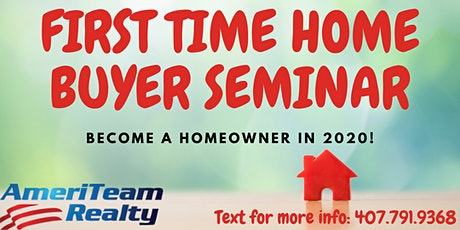 First Time Home Buyer WeBinar | Central Florida tickets