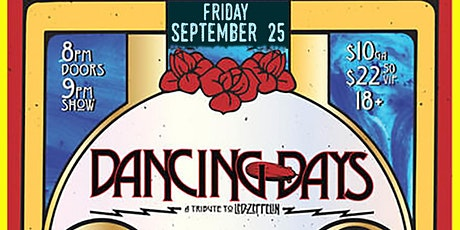 Dancing Days - Led Zeppelin Tribute tickets