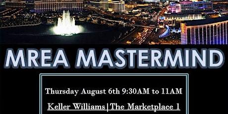 Millionaire Real Estate Agent(MREA)Mastermind tickets