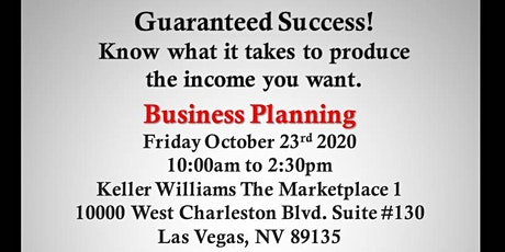 Business Planning  of a Millionaire Real Estate Agent tickets