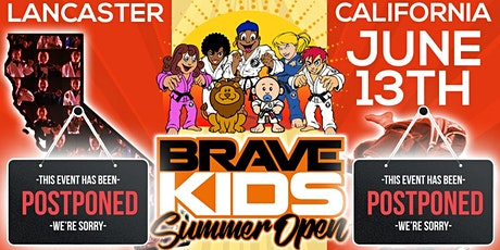 Tournament Postponed - Brave Kids Summer Open (June 13th) tickets