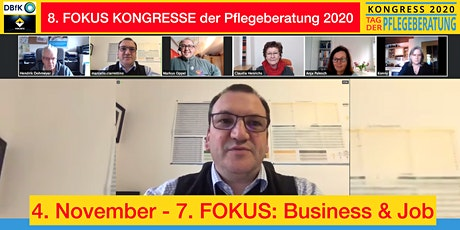 7. FOKUS KONGRESS der Pflegeberatung - FOKUS: Business & Job Tickets