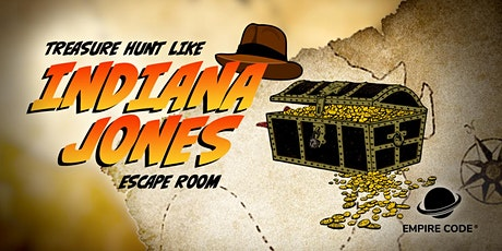 Treasure Hunt Like Indiana Jones Escape Room tickets