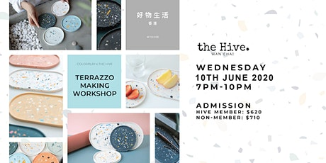 Colorplay X the Hive Terrazzo Making Workshop tickets