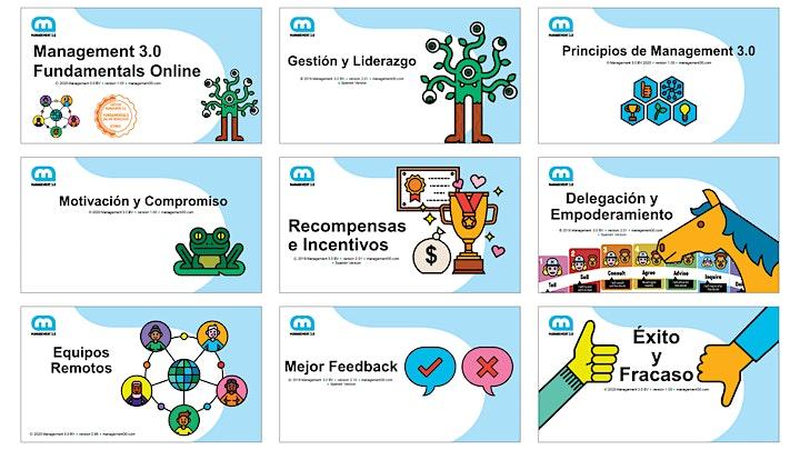Imagen de Management 3.0 Fundamentals Online Workshop