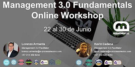 Management 3.0 Fundamentals Online Workshop entradas